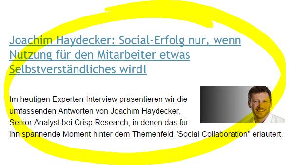 social business arena - screenshot