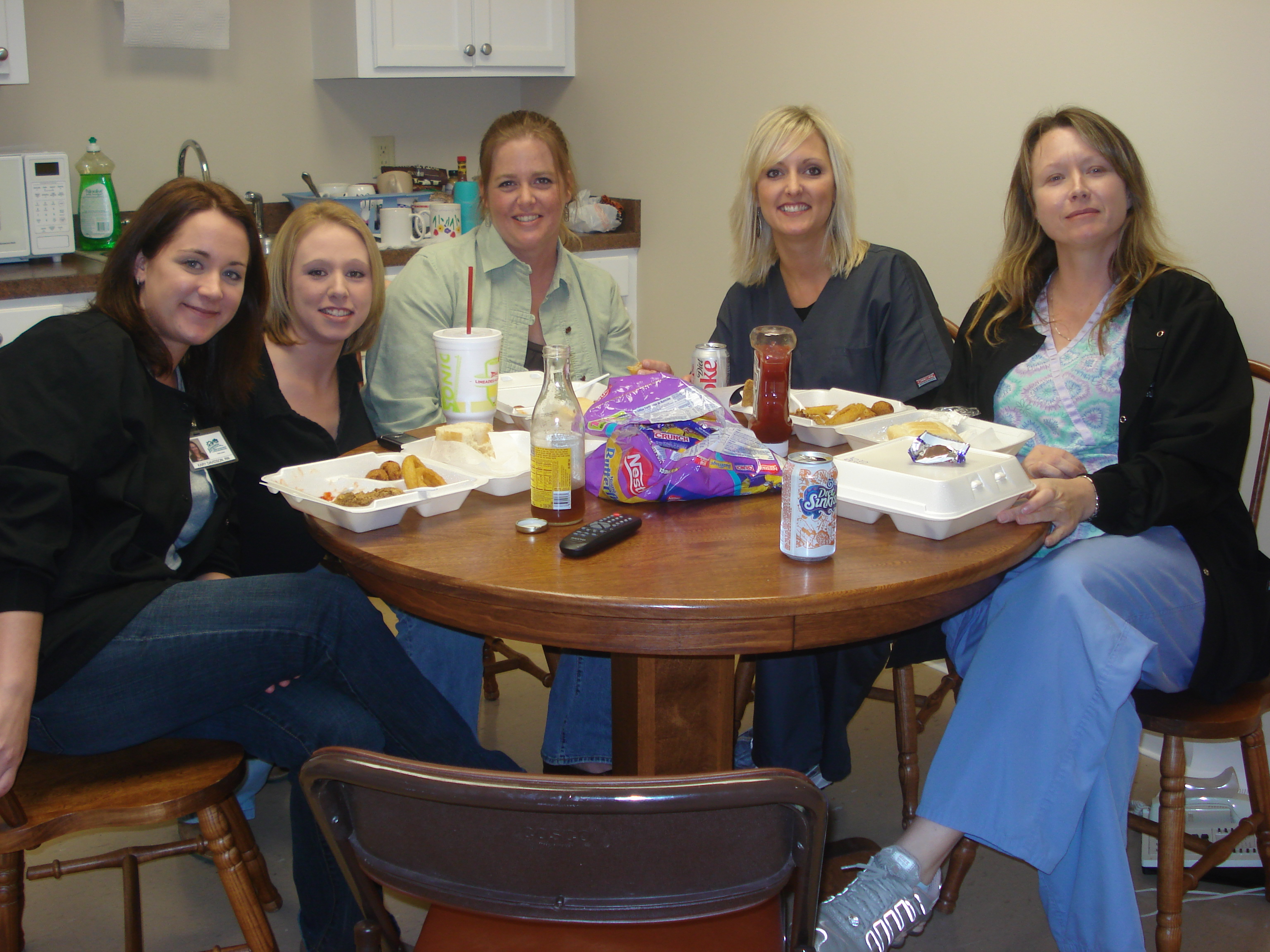 Intensive Home Healthcare Staff enjoying survey!