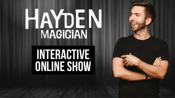 hayden childress virtual magic show