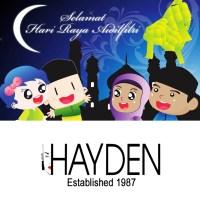 Selamat Hari Raya Aidilfitri from HAYDEN