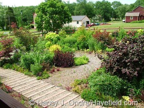 The Front Garden at Hayefield (Summer 2011)