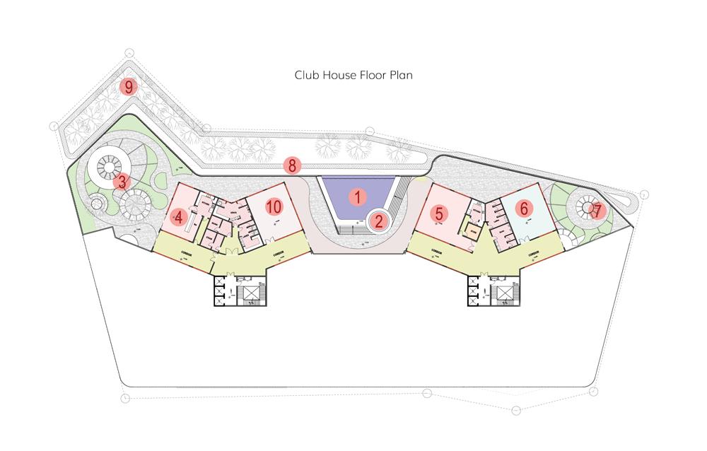 MARQUIS Club House Floor Plan