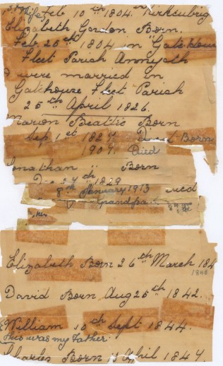 Beattie Letter Page 1
