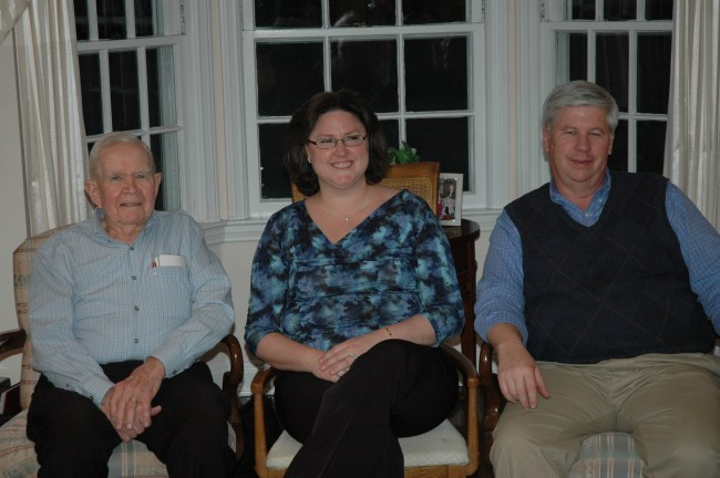 Joe Haffey, Colleen Hayes and Bill Clemency