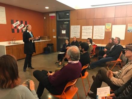 community meeting October 2018