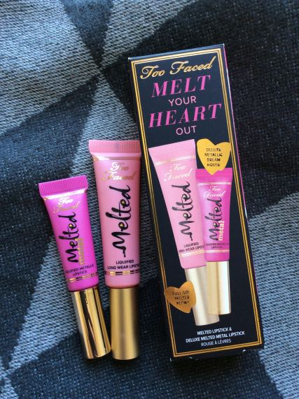 The Melt your Heart out Set from Sephora. Includes Metallic Dream House and Melted Melon
