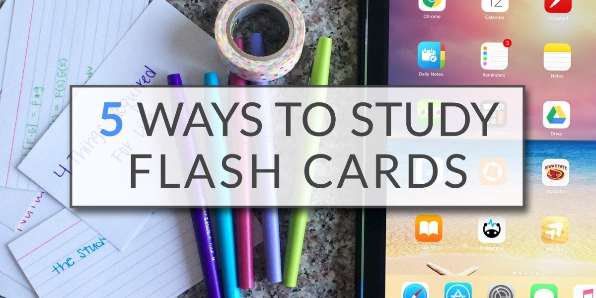 5 Ways To Study Flash Cards   College Tips   Hayle Olson   www.hayleolson.com