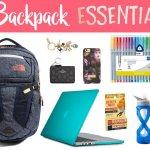 Backpack Essentials   Hayle Olson   www.hayleolson.com