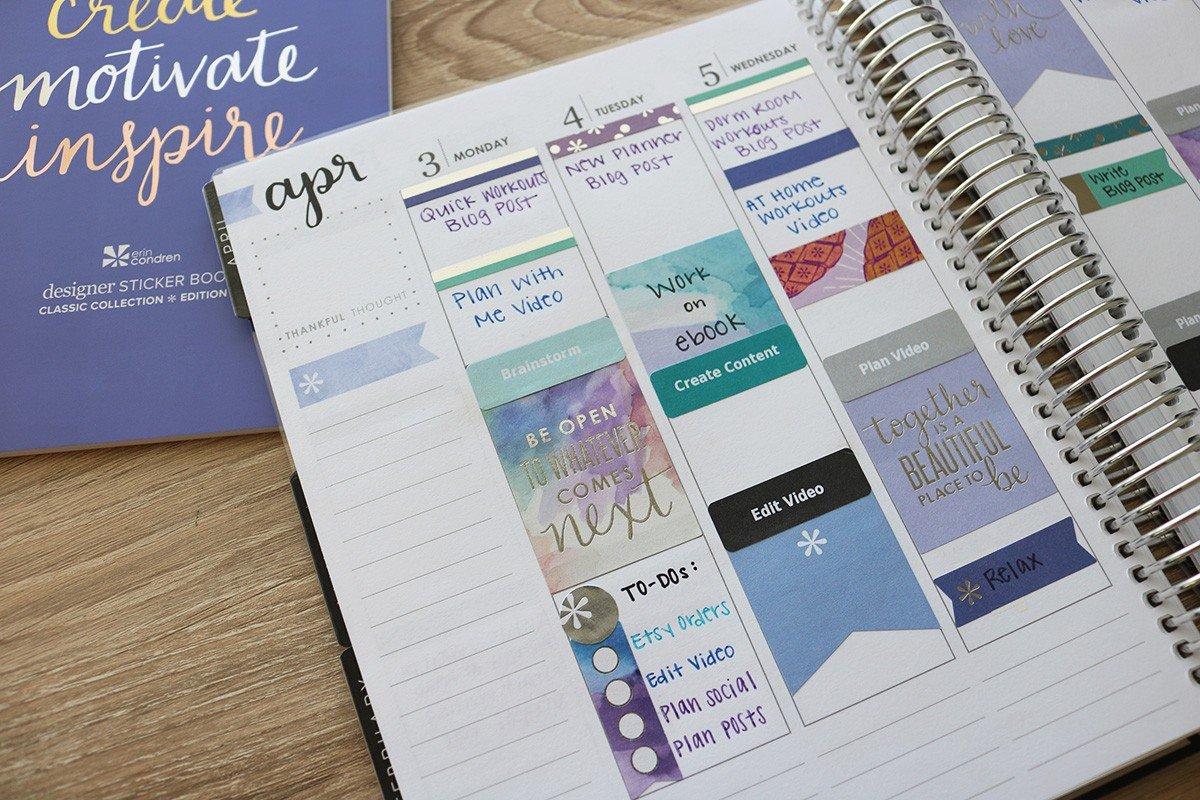 How I Use My Erin Condren Planner   College Tips   Hayle Olson   www.hayleolson.com