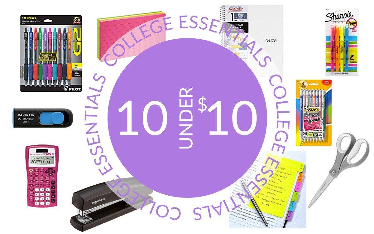 10 College Essentials Under $10