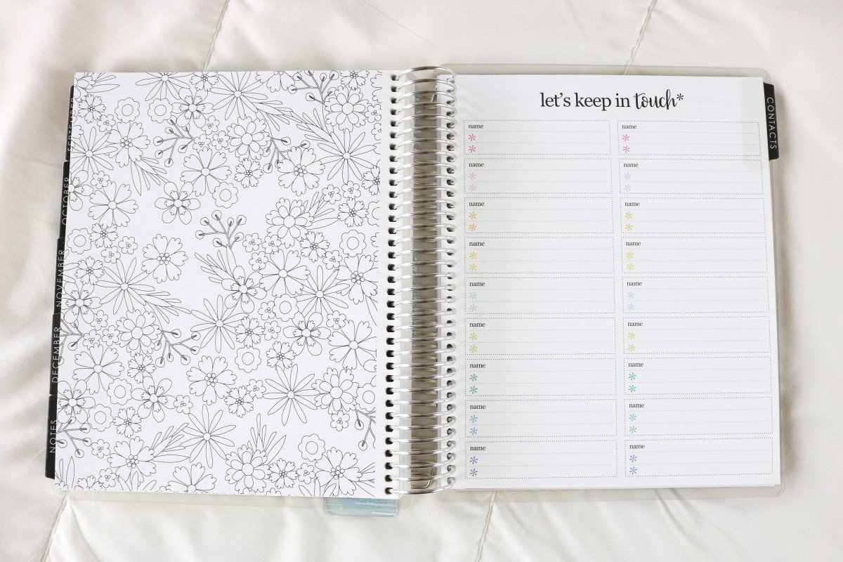 2019 Life Planner Contact Page