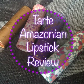 Tarte Amazonian Lipstick