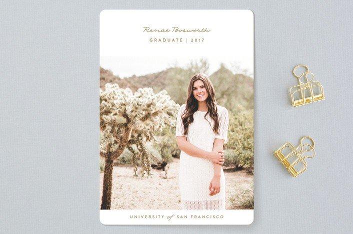 Minted Graduation Invites | College Tips | hayle santella | www.haylesantella.com