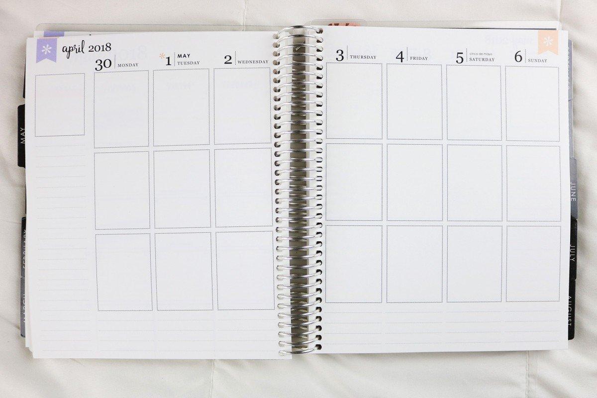 Erin Condren 2018 Life Planner Review   hayle santella
