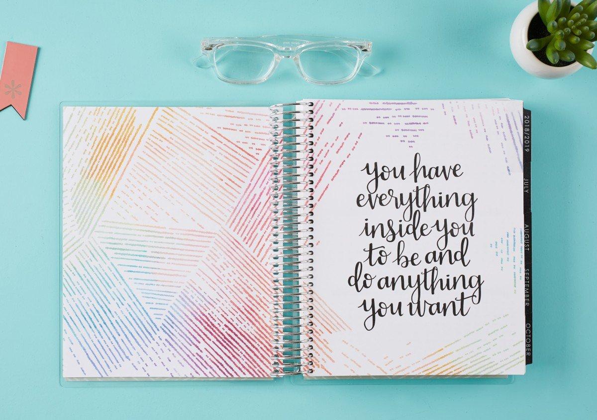 Erin Condren 2019 Life Planner Review | hayle santella