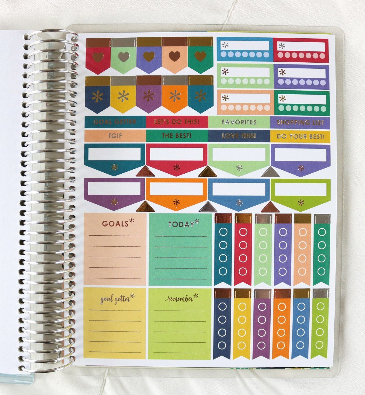 2019 Life Planner Functional Stickers