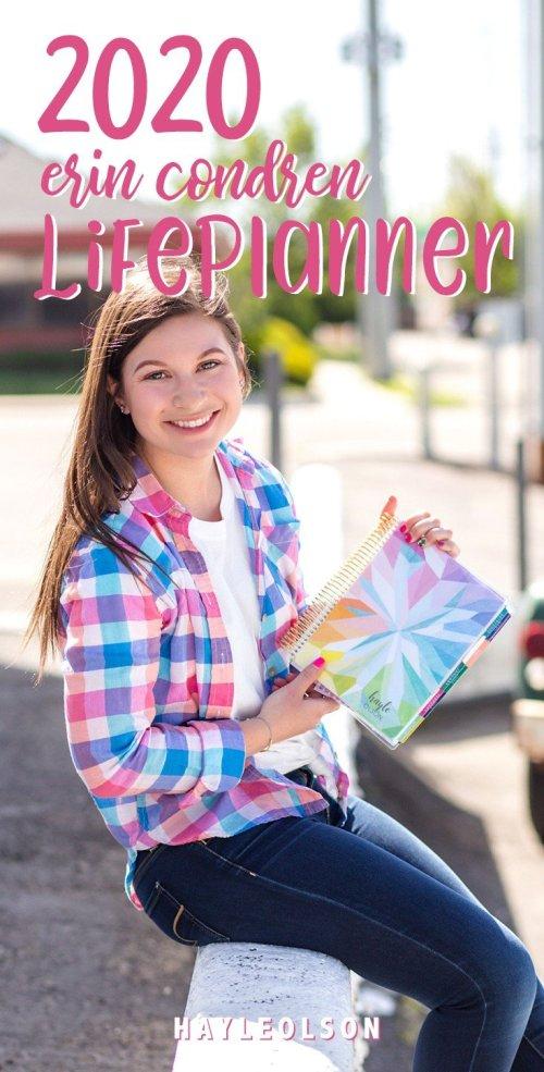 NEW Erin Condren 2020 LifePlanner | hayle santella