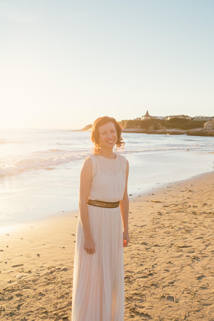 Elizabeth Jonathan Santa Cruz Beach Wedding Photography