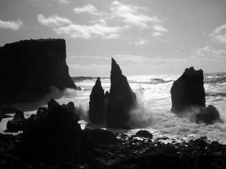 Where the mid-Atlantic ridge meets the coast of Iceland