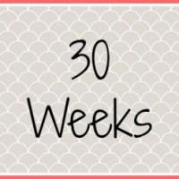Twin Pregnancy Diary - 30 Weeks