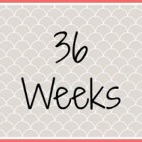 Twin Pregnancy Diary - 36 Weeks