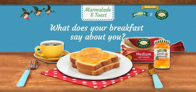marmalade and toast