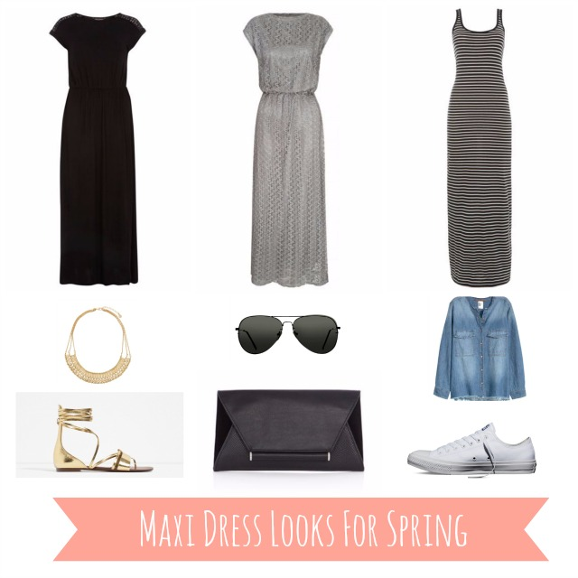 Maxi Dress Looks For Spring Mood Board
