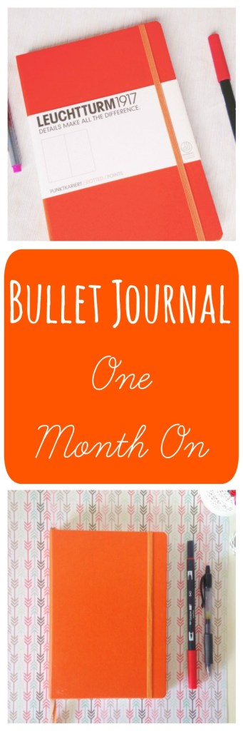 Bullet Journal One Month On - Tracking my first month of using the Bullet Journal System