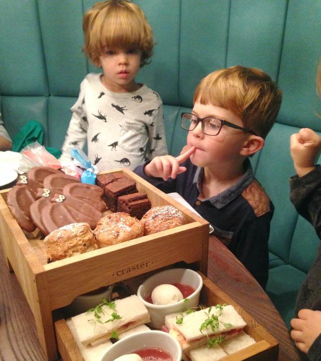 Children's Afternoon Tea MPW Liverpool