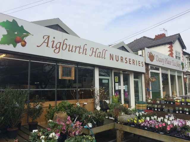 Aigburth Hall Nurseries Liverpool