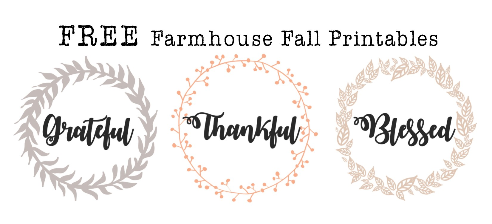 image about Farmhouse Printable named Absolutely free Tumble Farmhouse Printables Hayley Lynn Life