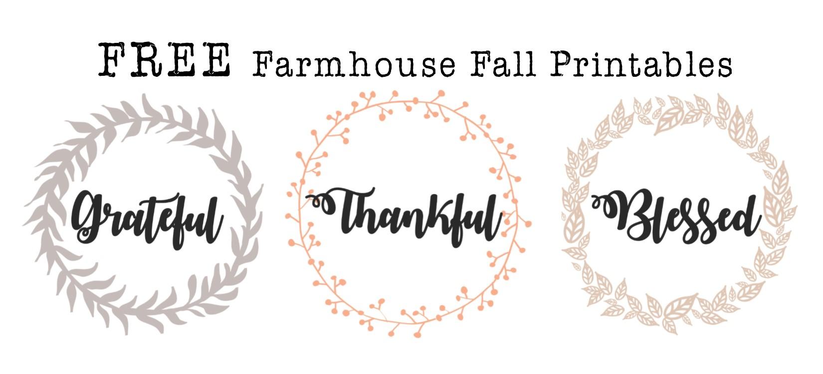 image about Farmhouse Printable named Absolutely free Tumble Farmhouse Printables Hayley Lynn Life