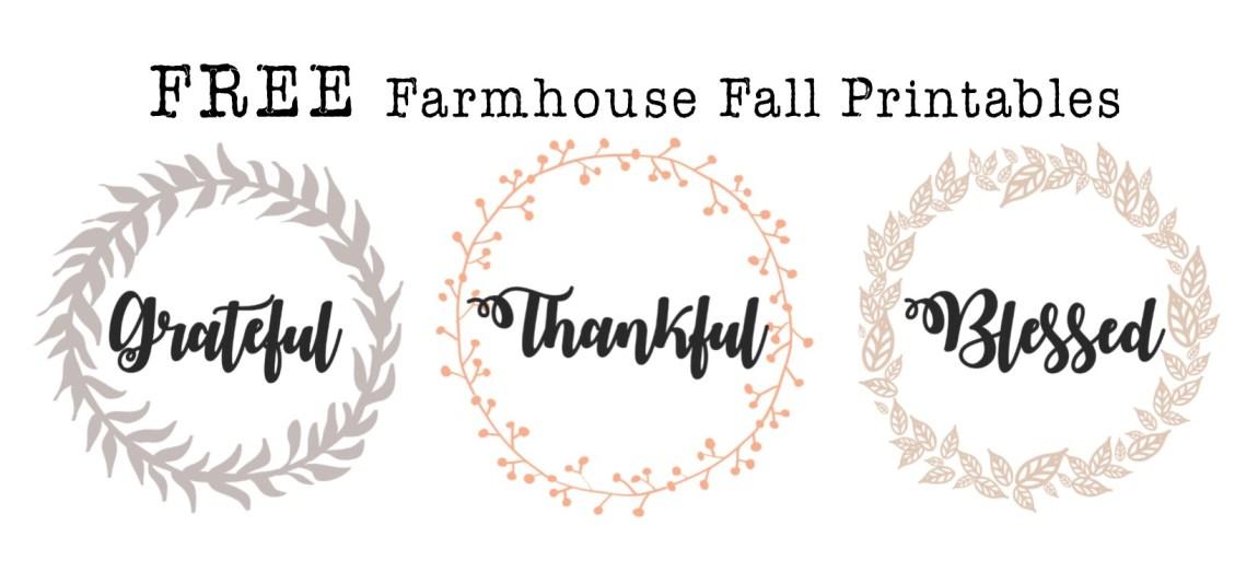Free Fall Farmhouse Printables – Hayley Lynn Lifestyle