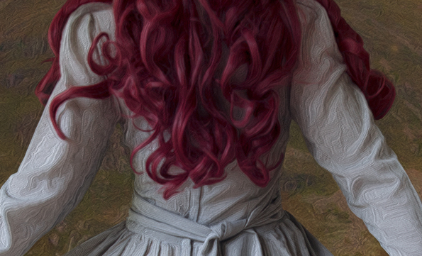 Detail of image - using the oil paint filter to resemble a painting