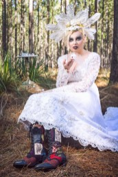 dry ice, pendragon shoes, alice in wonderland, photoshoot, photography