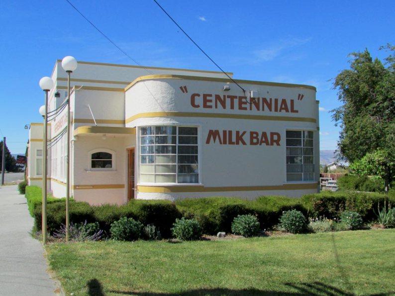 Ranfurly Milk Bar New Zealand Travel Writing Blogger Workshop Road Trip