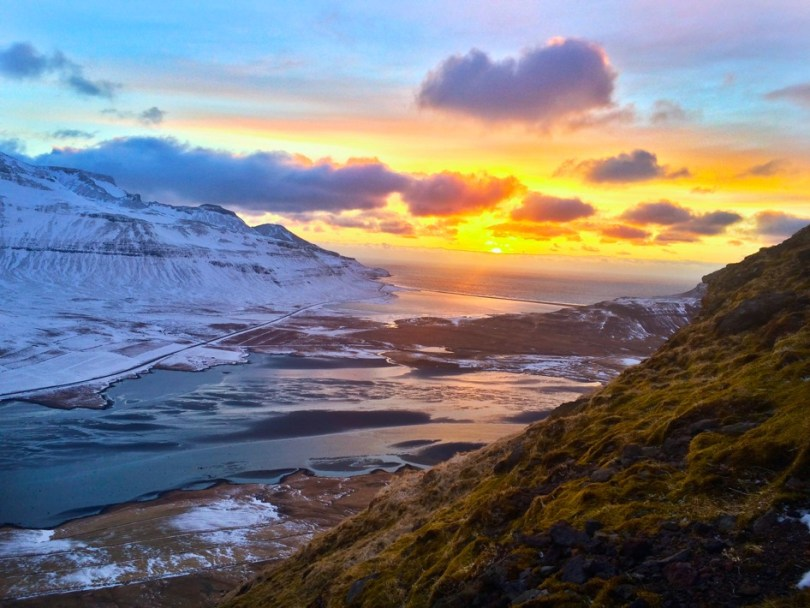 Icelandic Sunset Road Trip Travel Writing Workshop