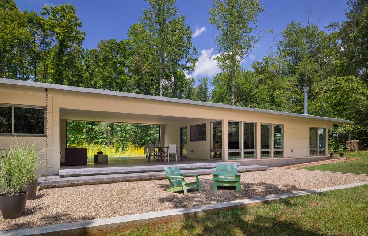 Houzz Design Workshop The Modern Dogtrot Hays Ewing Design Studiohays Ewing Design Studio