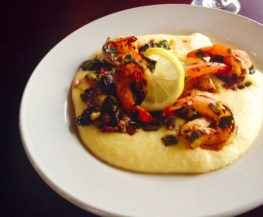 Shrimp & Grits at Hay City Store & Ice House