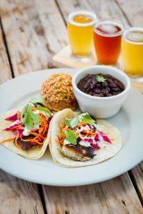 Hay City Store & Ice House Awesome Fish Tacos and Flights of Beer