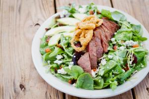 Steak Salad @ Hay City Store & Ice House