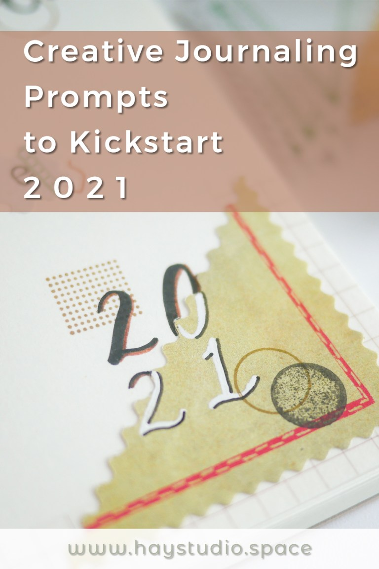 Creative journaling prompts to kickstart 2021