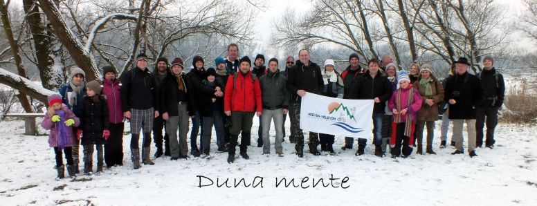 Túracsapatunk a Duna mentén