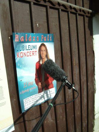 Balázs Pali plakát Torockón