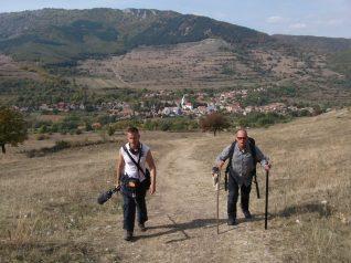 Tóth József és Kiss Attila úton a Székelykőre