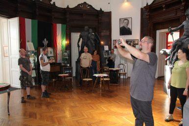 Látogatás a Trianon Múzeumban