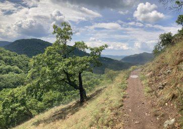 Visegrádi-hegység - Spartacus-ösvény