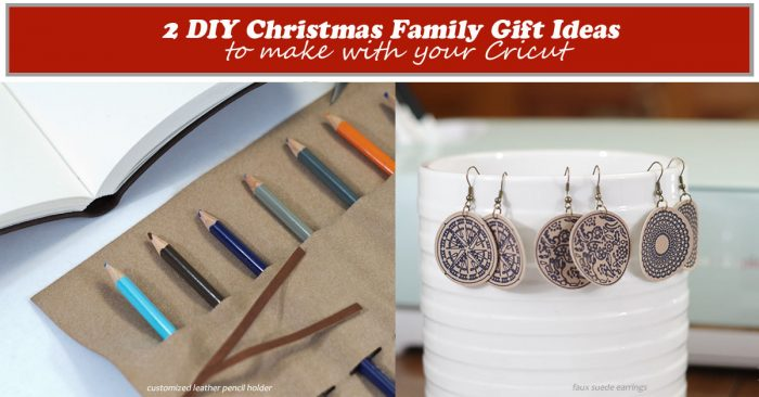 2 DIY Christmas Gift Ideas To Make With Your Cricut