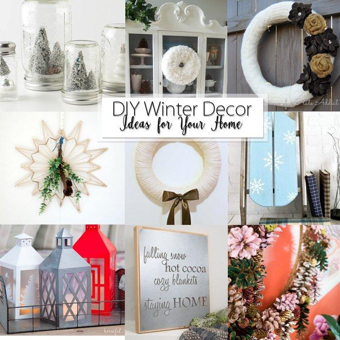 25 Diy Winter Decor Ideas For Your Home Hazel Gold Designs