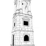 Roman Tower White